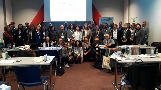 QUIETMED2 participates in the World Marine Mammal Conference